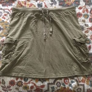 ☀️ Merona Olive skirt